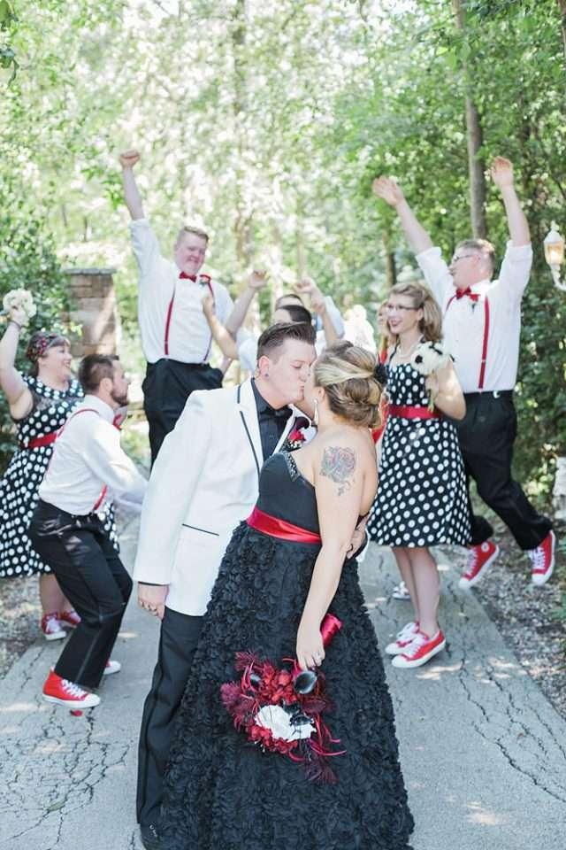 Wedding Dresses Appleton Wi 45 Perfect Red u Black Rockabilly