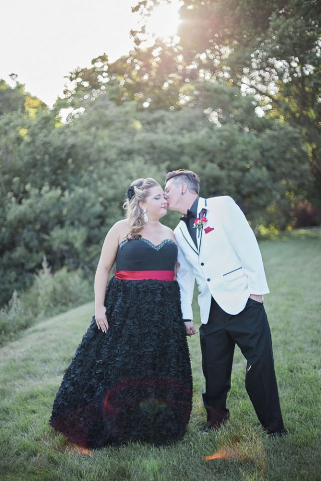 Red & Black Rockabilly Wedding (32)
