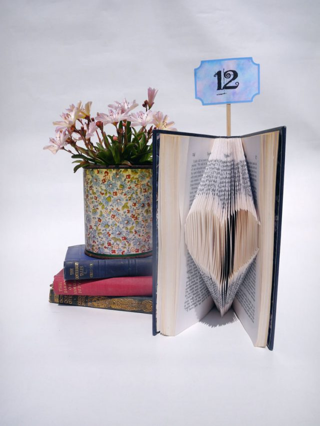 finished folded book art tutorial (2)
