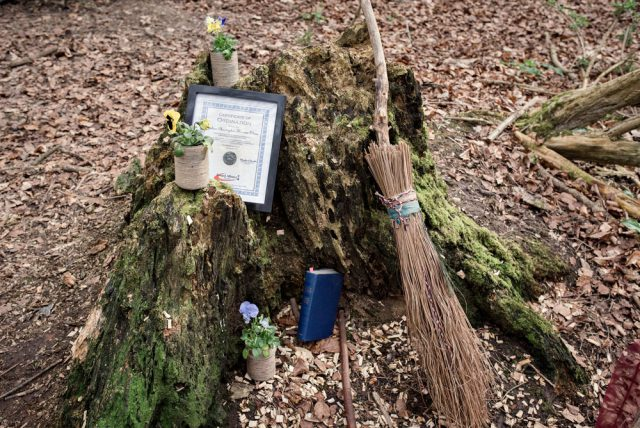 homemade woodland witch doctor wedding (1)