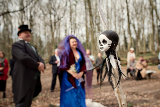homemade woodland witch doctor wedding (13)