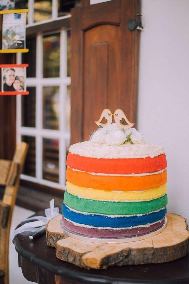 Rainbow Wedding Cakes 20 Fabulous rainbow wedding in south