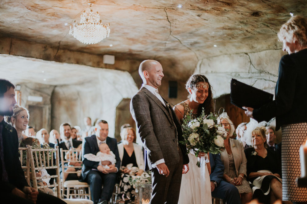Boho Inspired Shakespearean Wedding In A Cave 5
