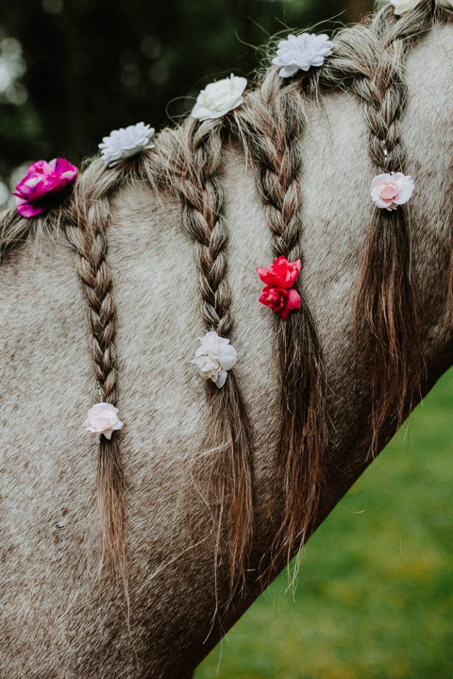 Bohemian Fairytale Dream Wedding with Horses (6)