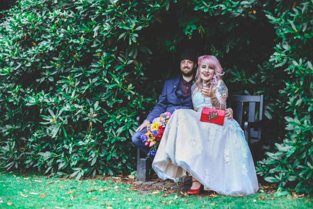 Colourful Comic Book Wedding in Two Parts (53)