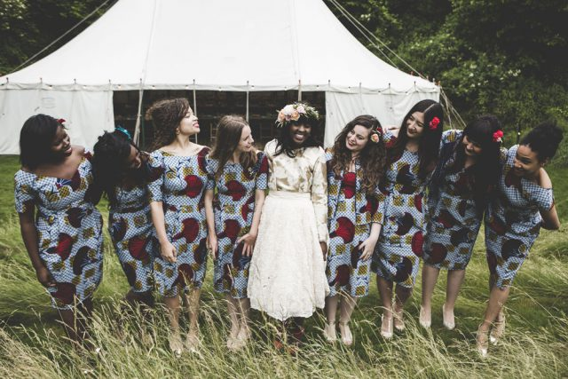 Colourful Wedding Inspired by African Prints and Scotland (34)
