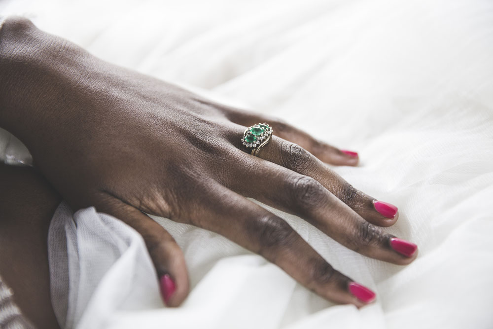 African Wedding Ring 93 Ideal Colourful Wedding Inspired by