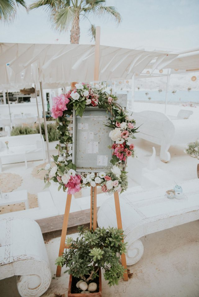 Chilled Beach Wedding Inspired by Bougenvillia (16)