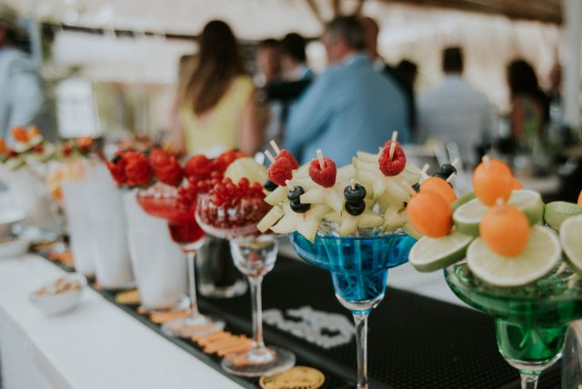 Chilled Beach Wedding Inspired by Bougenvillia (27)