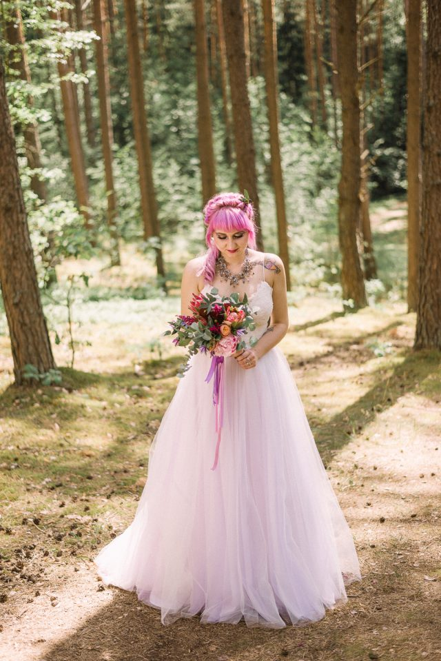 Once Upon a Dream Bohemian Woodland Fairytale Wedding (32)