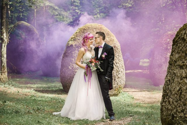 Once Upon a Dream Bohemian Woodland Fairytale Wedding (37)