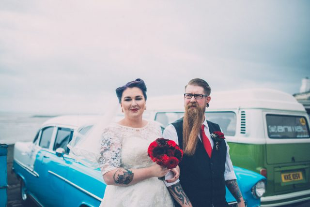 Rock n Roll Village Hall Wedding with Lots of DIY (7)