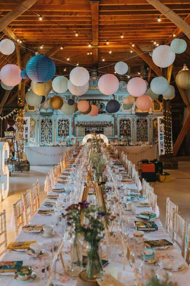 Whimsical Wonderland Wedding With Afternoon Tea 5