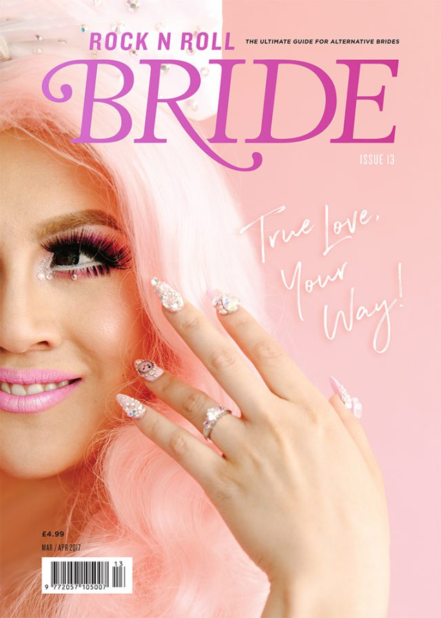 rocknrollbride magazine issue 13 cover
