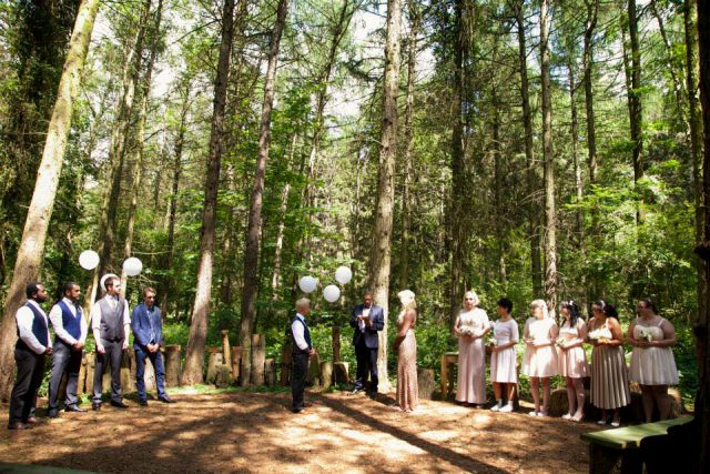 Chilled Out Three-Day Woodland Wedding (12)