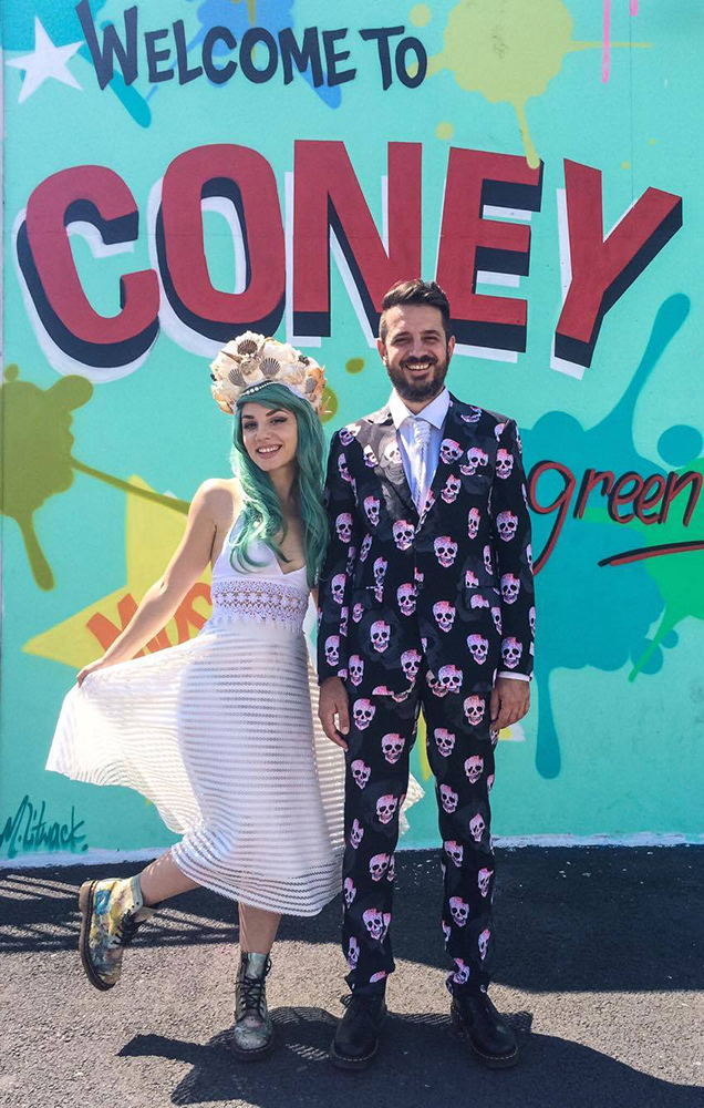Coney Island Mermaid Wedding (32)