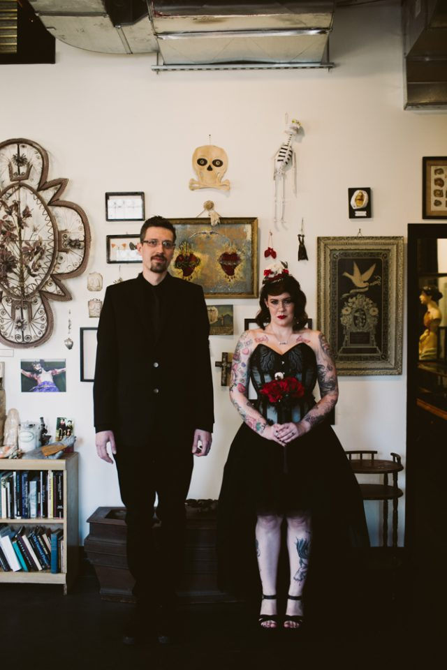 Gothic Wedding at the Morbid Anatomy Museum (31)