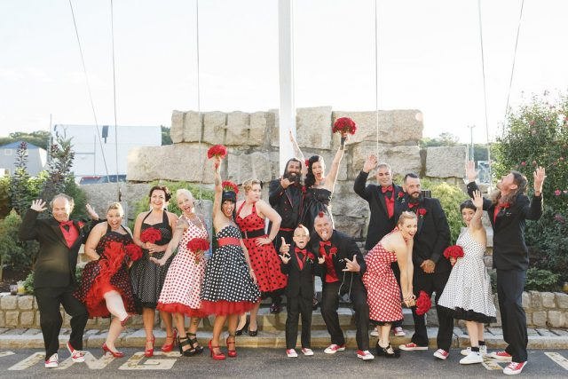 Rockabilly Wedding with Hot Rods and Rock n Roll! (25)