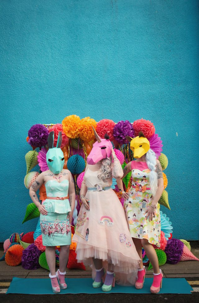 Turn Your Bridesmaids into Rainbow Bright Unicorns with Curious Coco (52)