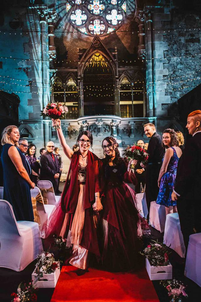 Witchy and Romantic Pagan Wedding in Scotland (19)