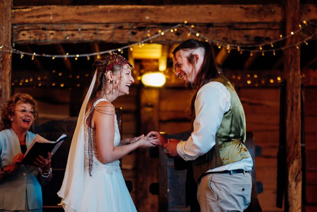 Bohemian Medieval Wedding with Archery & Snail Racing (7)