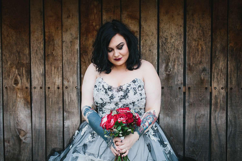 Red Gothic Wedding Dress 63 Vintage Creepy Gothic Wedding