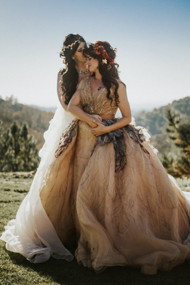 Faerie and Woodland Nymph Fantasy Wedding (36)