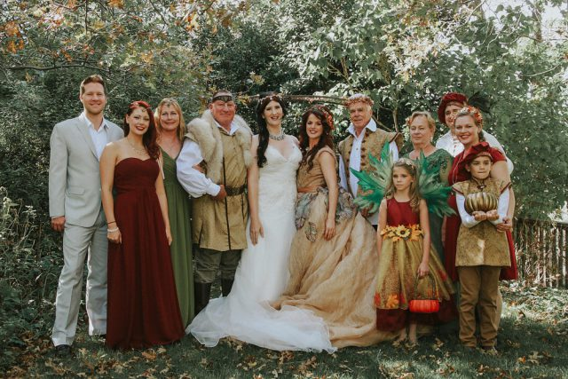Faerie and Woodland Nymph Fantasy Wedding (7)