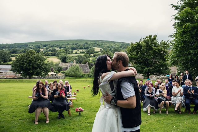 Metal & Pagan Handfasting Wedding in Wales (14)