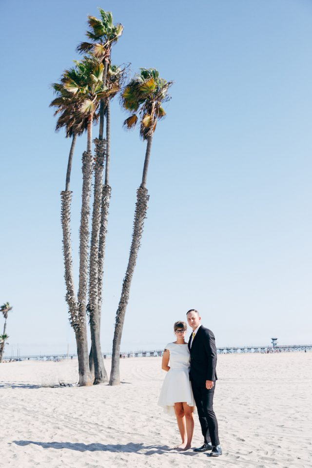 Modern Industrial Wedding on Long Beach (35)