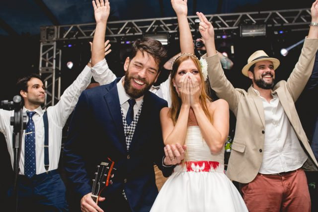 Music and Art Inspired Brazilian Wedding with a Flash Mob! (68)