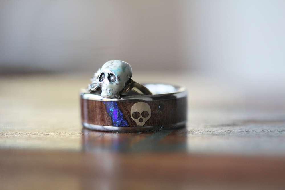 Skull Wedding Ring 46 Nice Romantic Memento Mori u