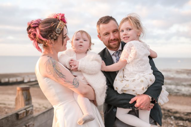 Whitstable Beach Wedding Planned in Eight Weeks (55)