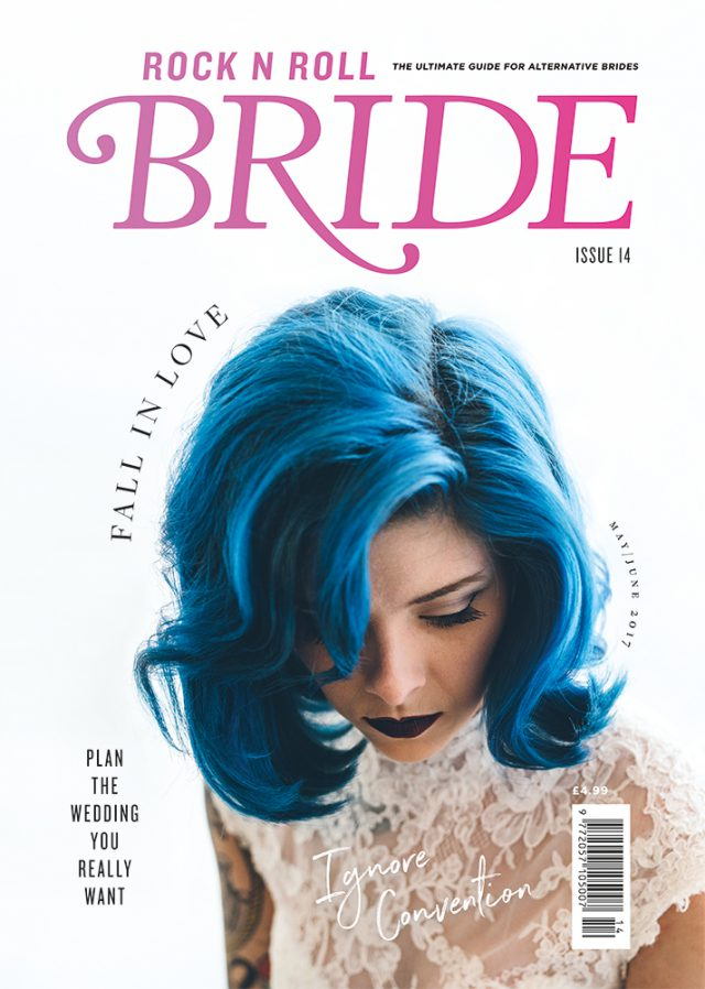 rocknrollbride mag issue 14 cover