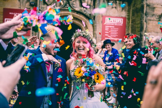 Colourful & Fun Brighton Wedding with a Christian Ceremony (18)