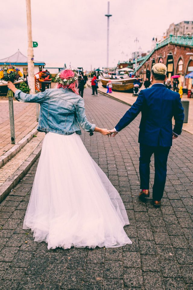 Colourful & Fun Brighton Wedding with a Christian Ceremony (34)