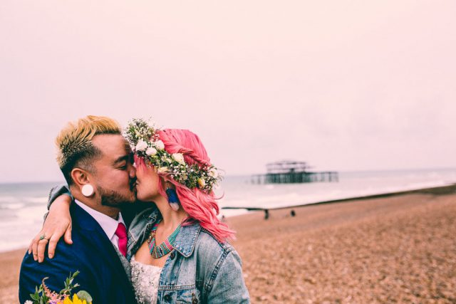 Colourful & Fun Brighton Wedding with a Christian Ceremony (35)