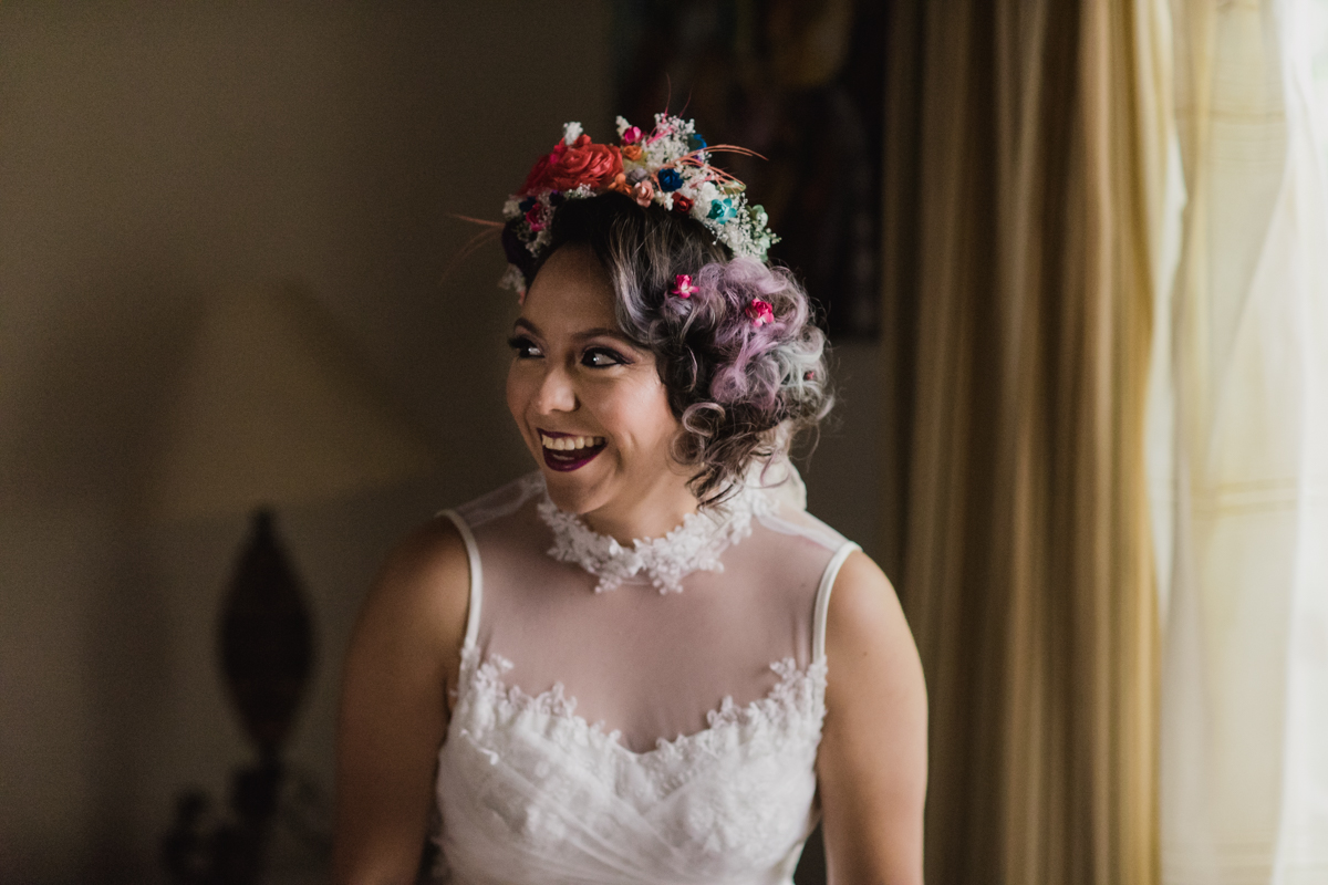 Colourful Mexican (Second) Wedding · Rock N Roll Bride