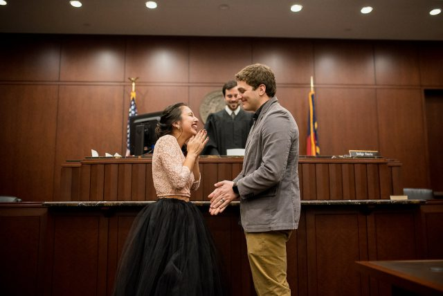 Intimate Courthouse Wedding for $250! (16)