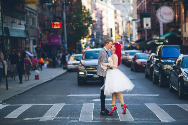 New York Bookshop Wedding (5)