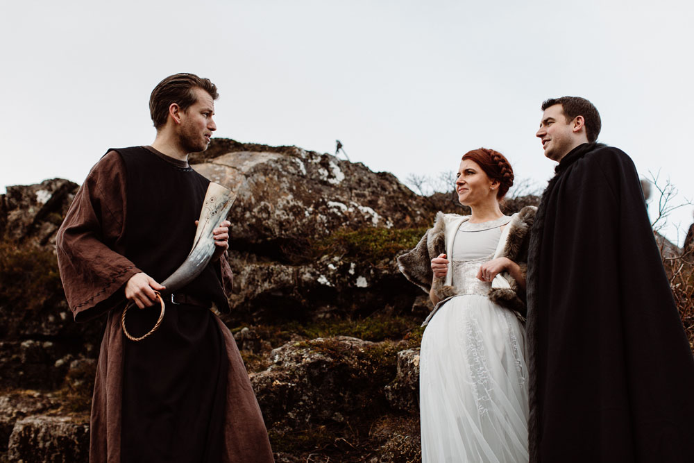 Game Of Thrones Inspired Wedding In Iceland · Rock N Roll