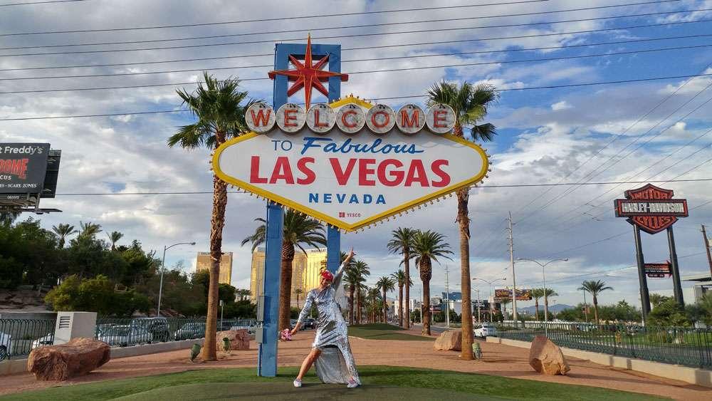 A Las Vegas Ceremony & A Kid's Party Reception · Rock N