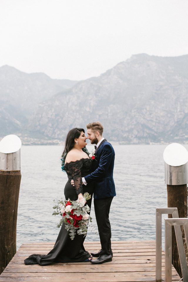Addams Family Inspired Elopement in Italy · Rock n Roll Bride