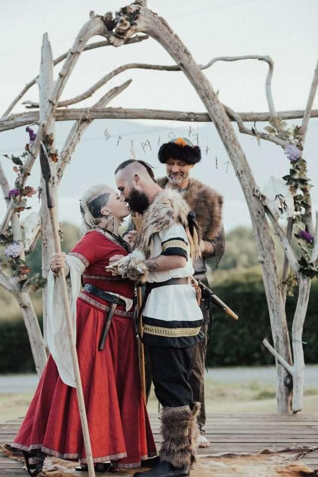 viking wedding ceremony