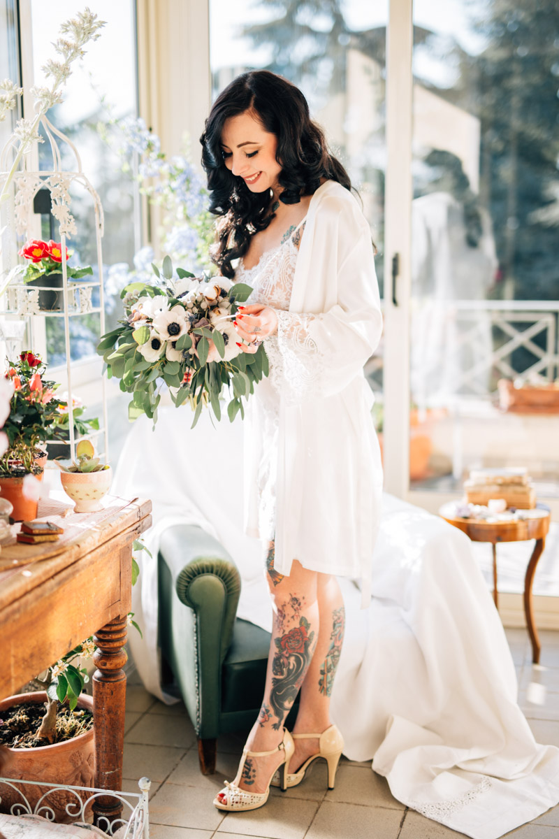 Why Every Bride Should do a Boudoir Shoot · Rock n Roll Bride