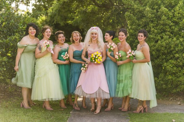 Pink And Green Wedding Dress 18 Lovely  wedding at all