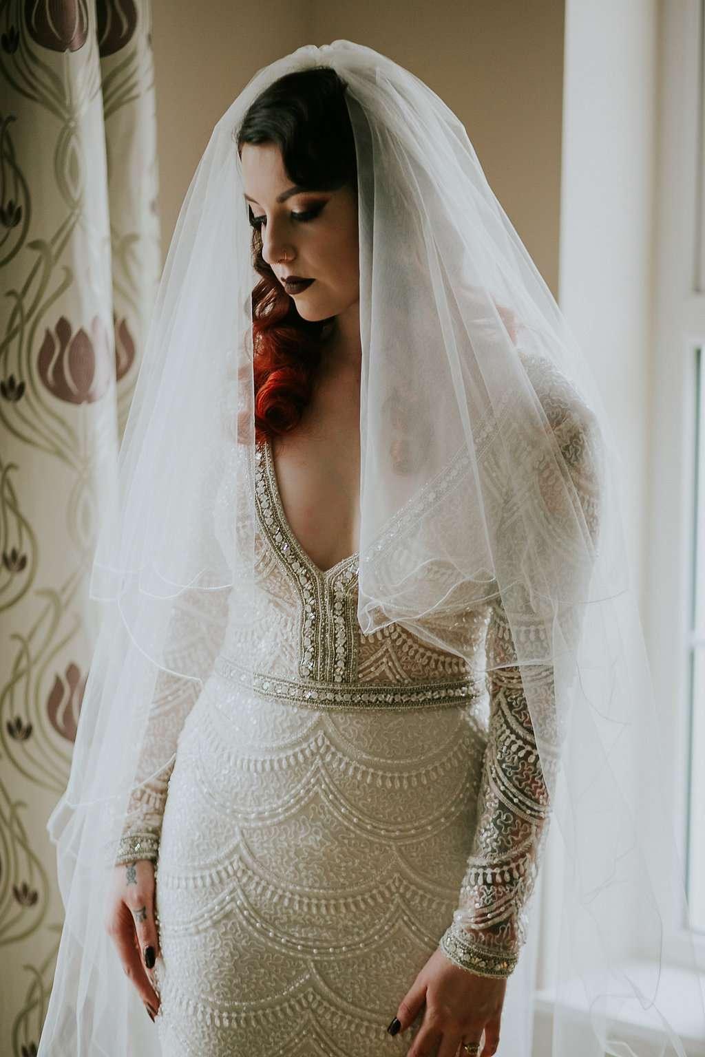 Wedding Dresses In Belfast 2 Luxury Glamorous Vaudeville Wedding in