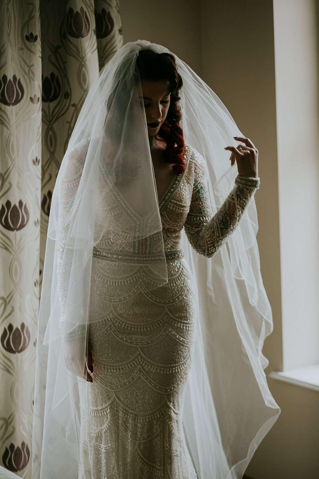 Wedding Dresses In Belfast 1 Fabulous Glamorous Vaudeville Wedding in