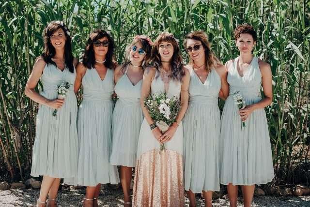 Laid Back Bohemian Destination Wedding In Ibiza · Rock N