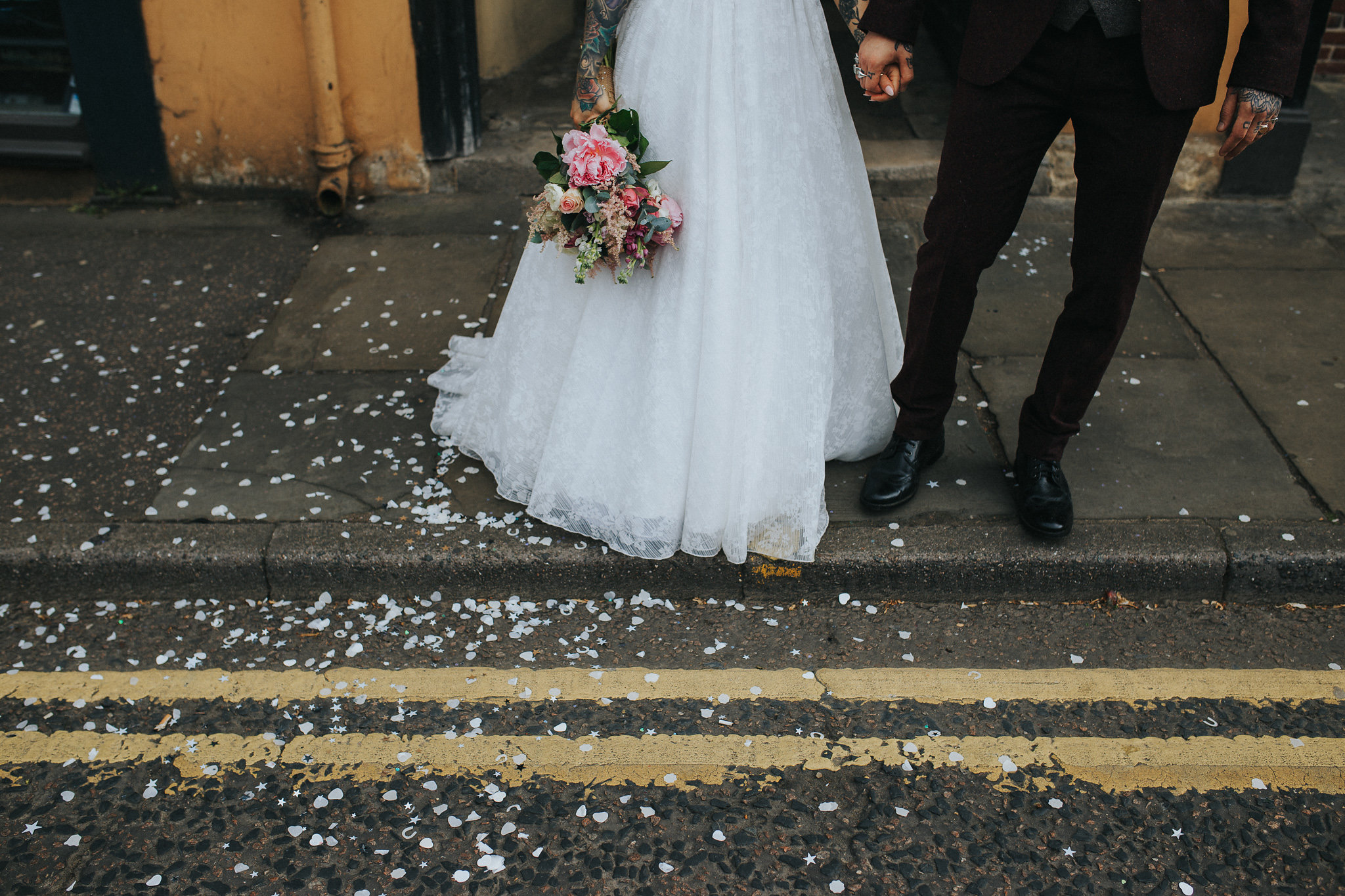 Party Vibes Vegan Wedding in Norwich · Rock n Roll Bride